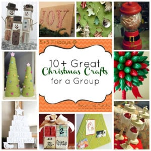 {5+5 Fridays} 10 Great Group Christmas Crafts