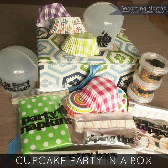 Cupcake Party in a Box