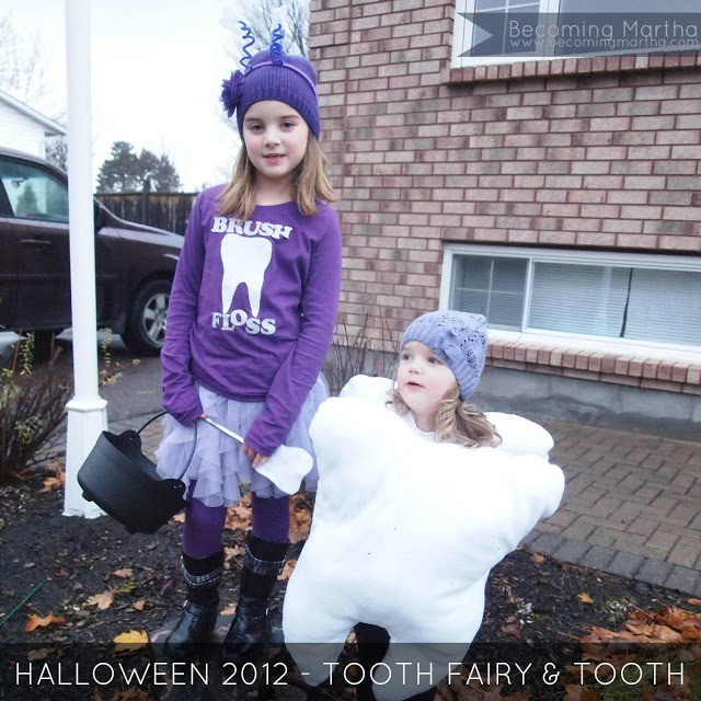 {Halloween 2012} The Tooth Fairy and Her Tooth