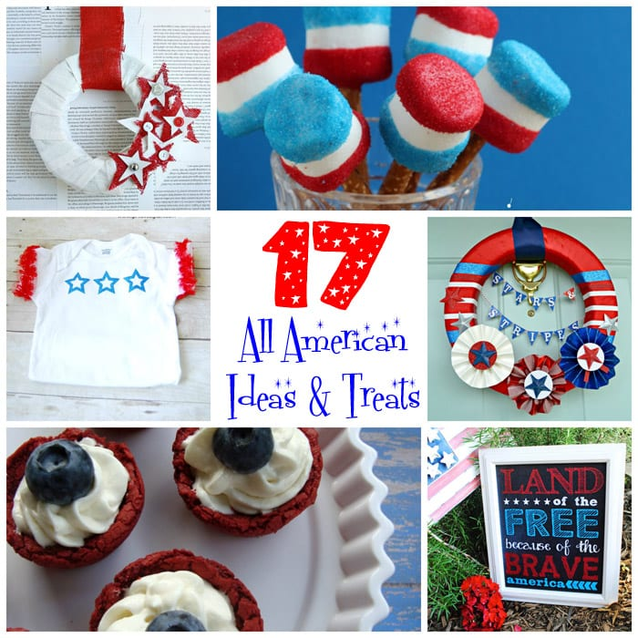 17 Patriotic Projects and Treats {4th of July or Canada Day}