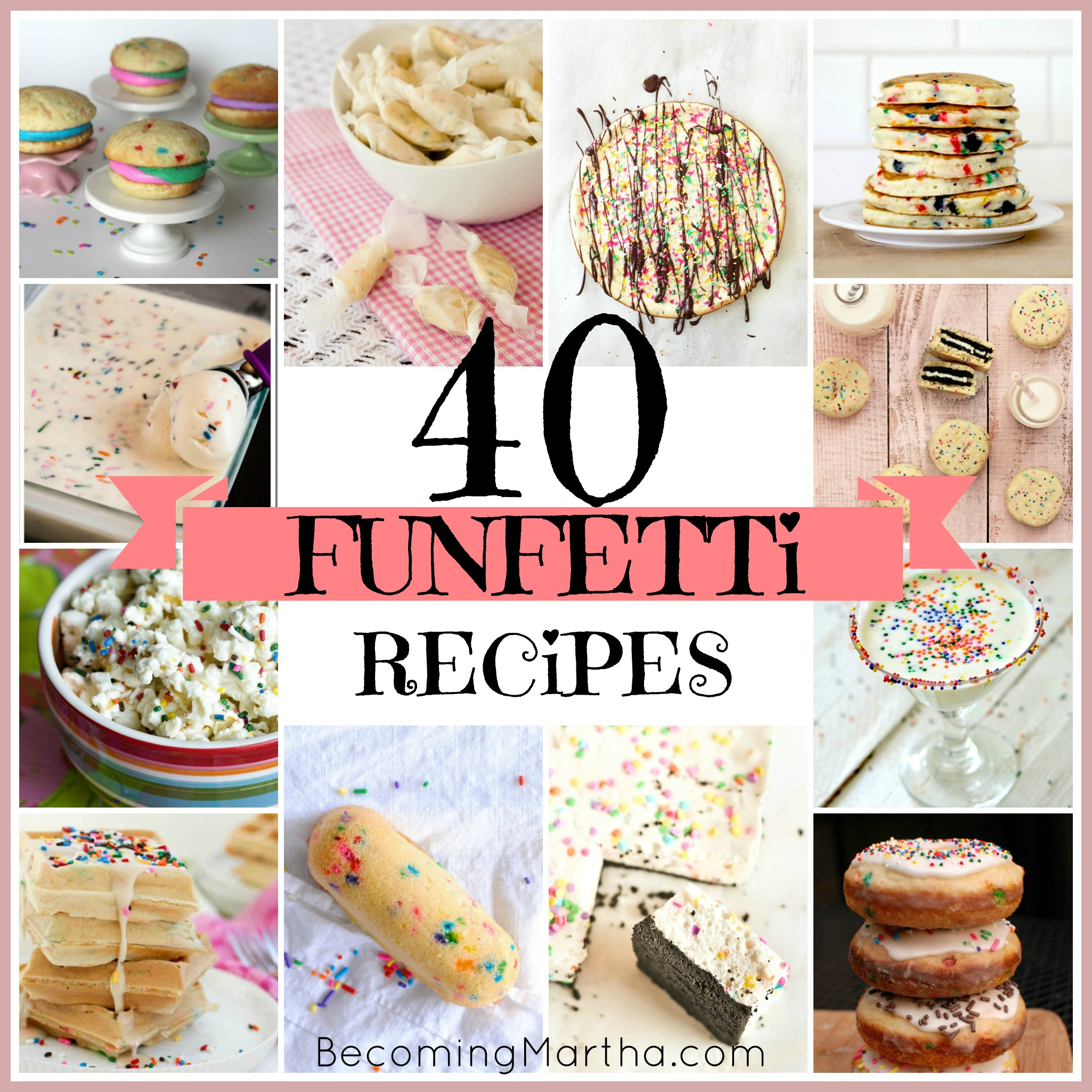 40 Non-Cake Funfetti Recipes