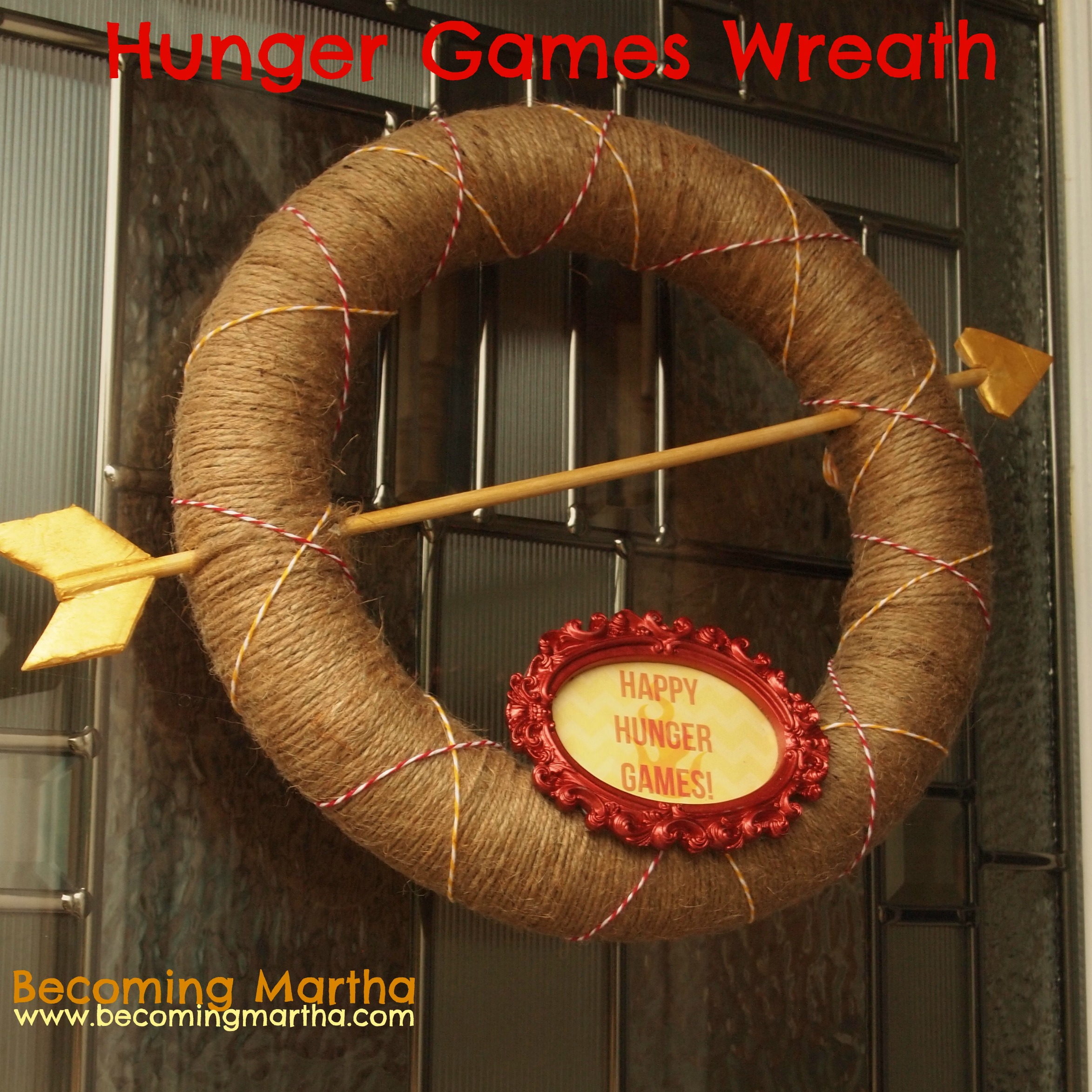 Hunger Games Wreath