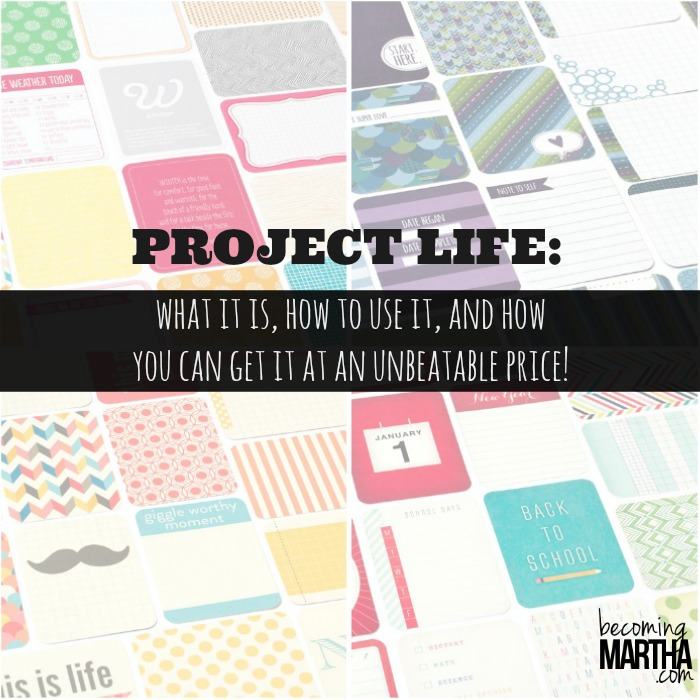 All About Project Life + A Special Deal