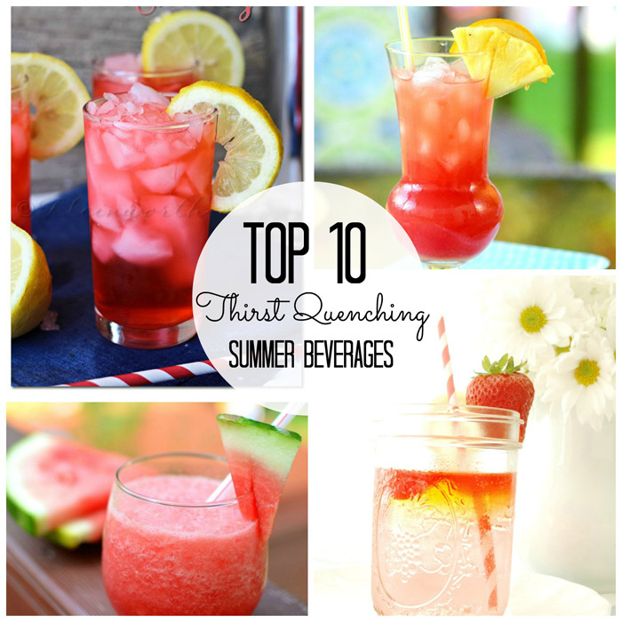 10 Thirst Quenching Beverages {Must Pin Projects}