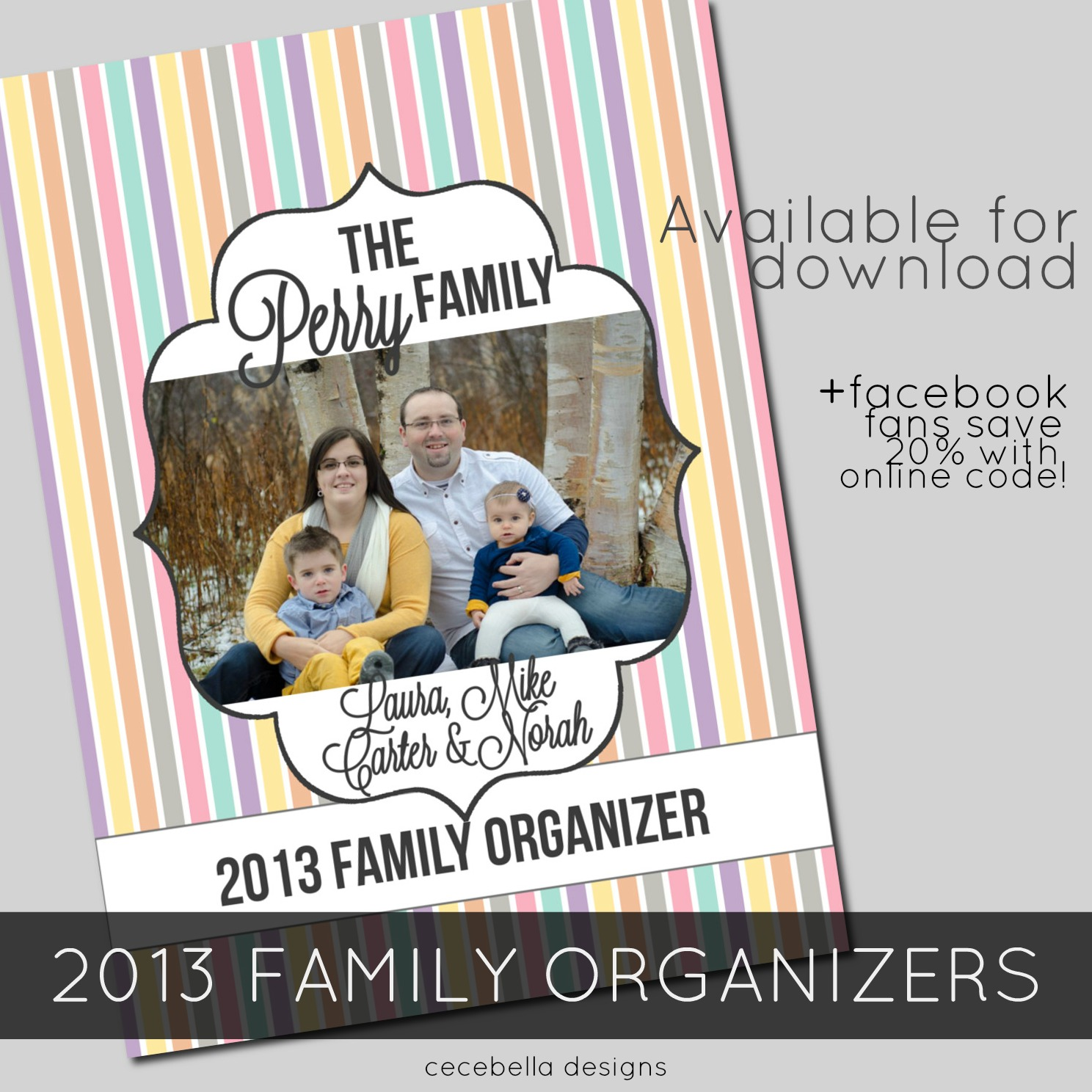 2013 Family Organizer and Household Binder System