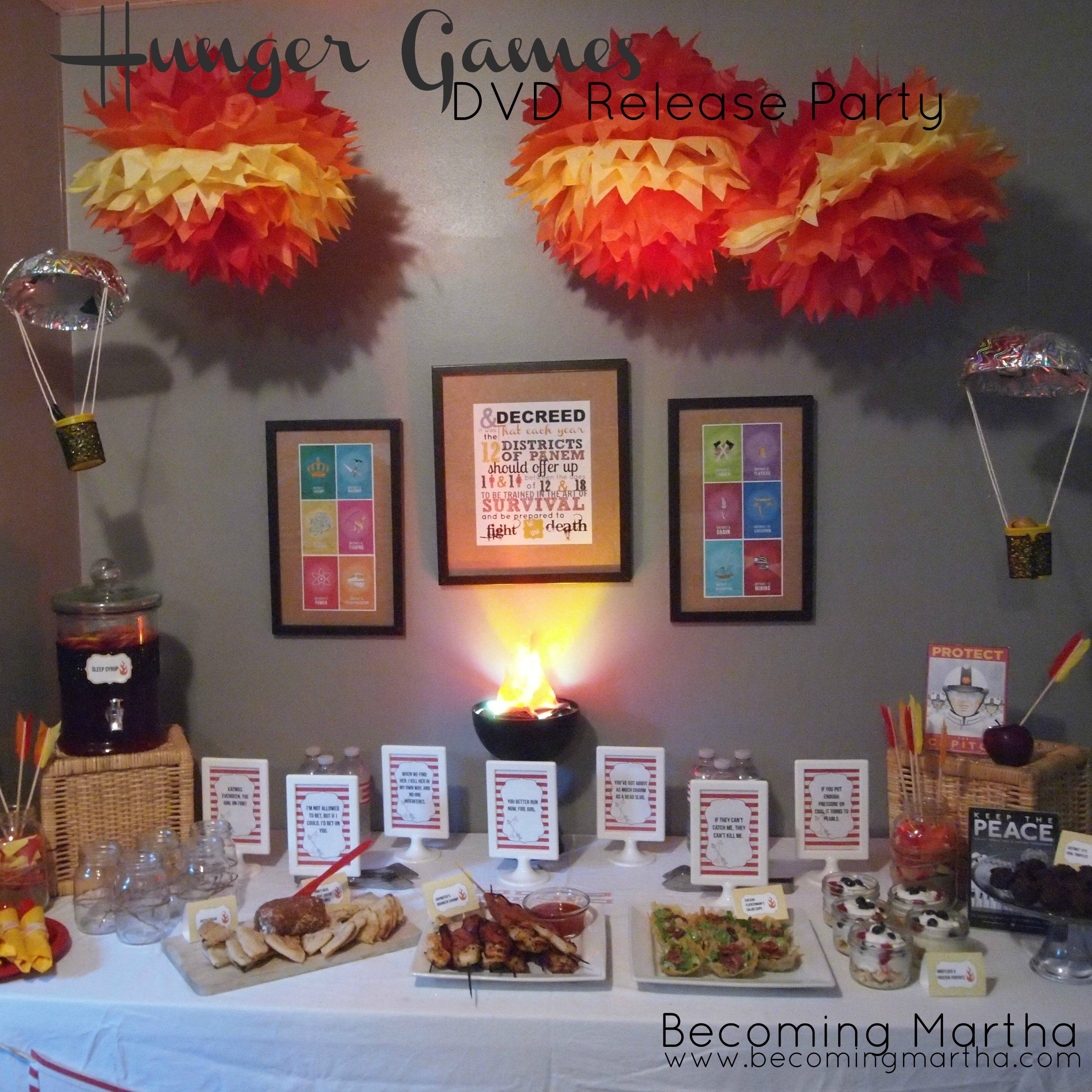 Hunger Games DVD Release Party