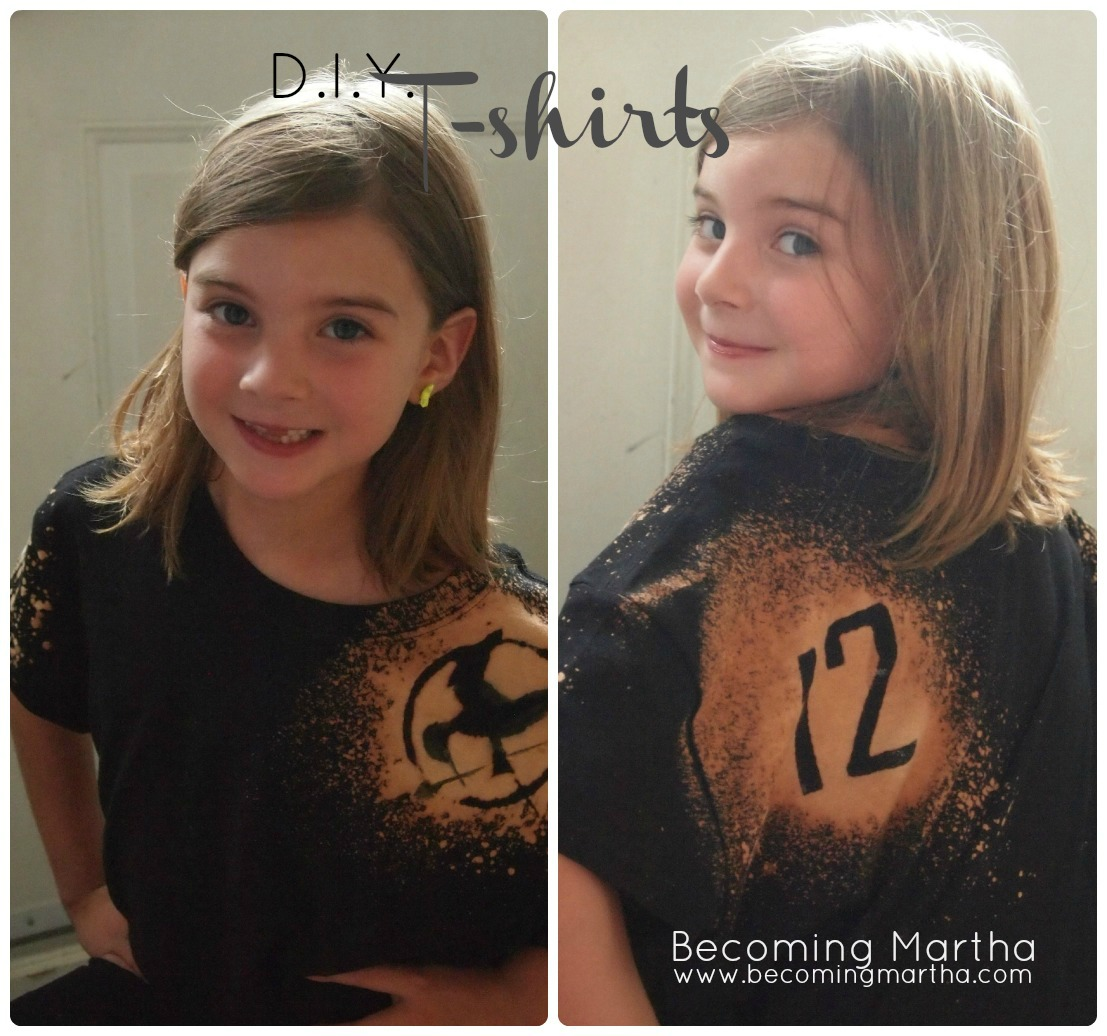 DIY T-Shirt with Freezer Paper Stencil