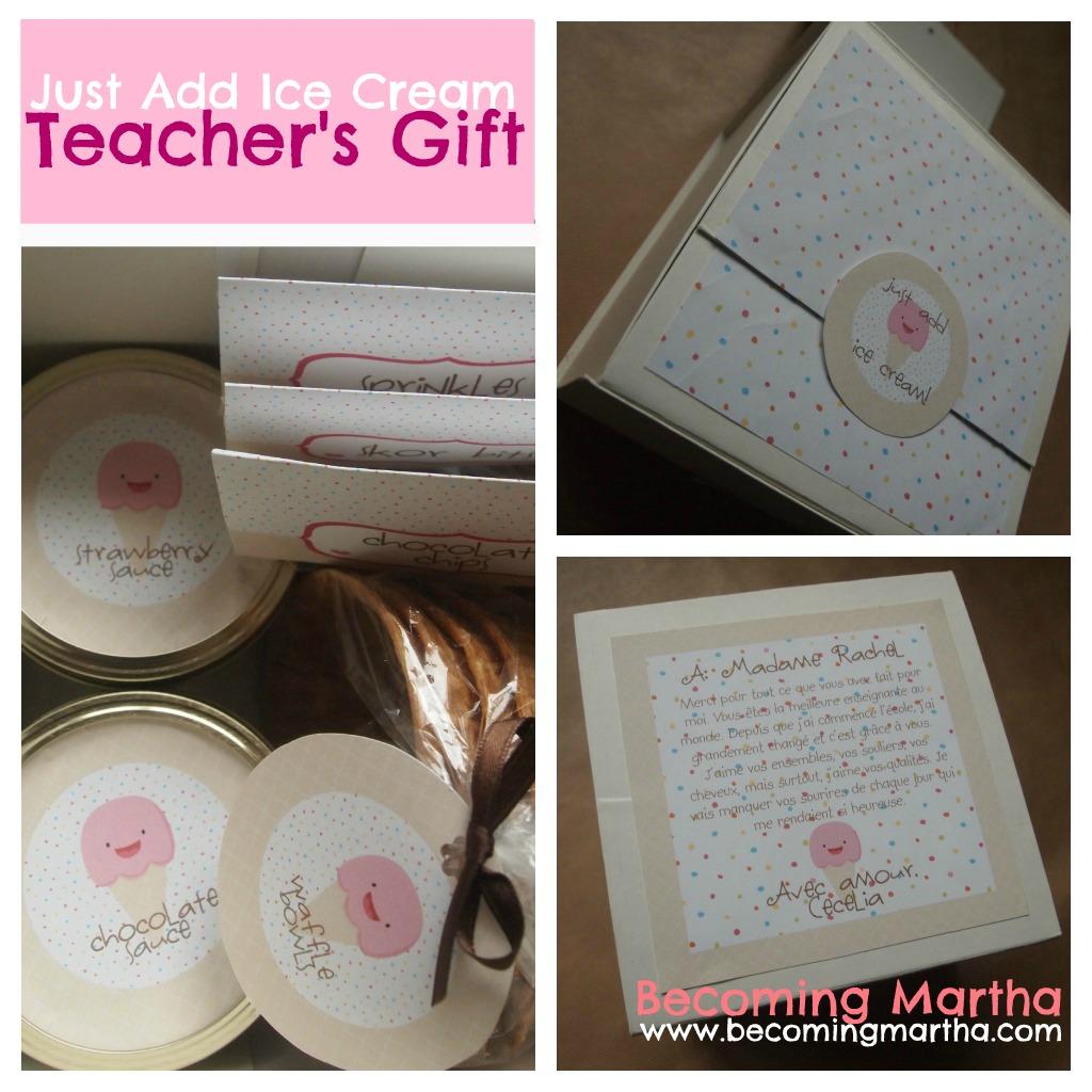 Year End Teacher's Gift