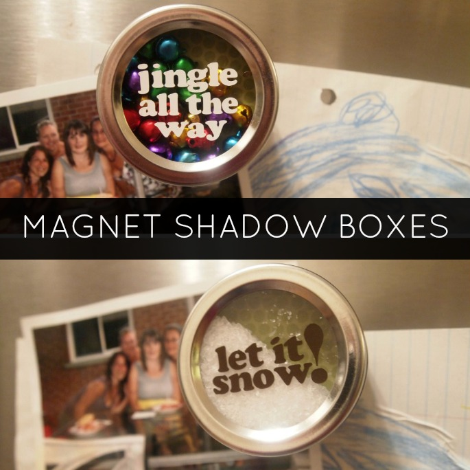 Magnet Shadow Boxes / Snow Globes