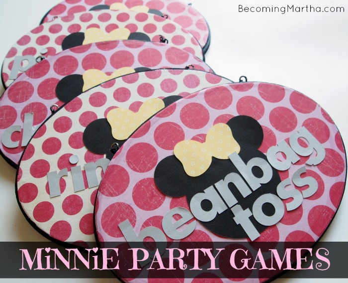 Minnie Mouse Party Games and Activities