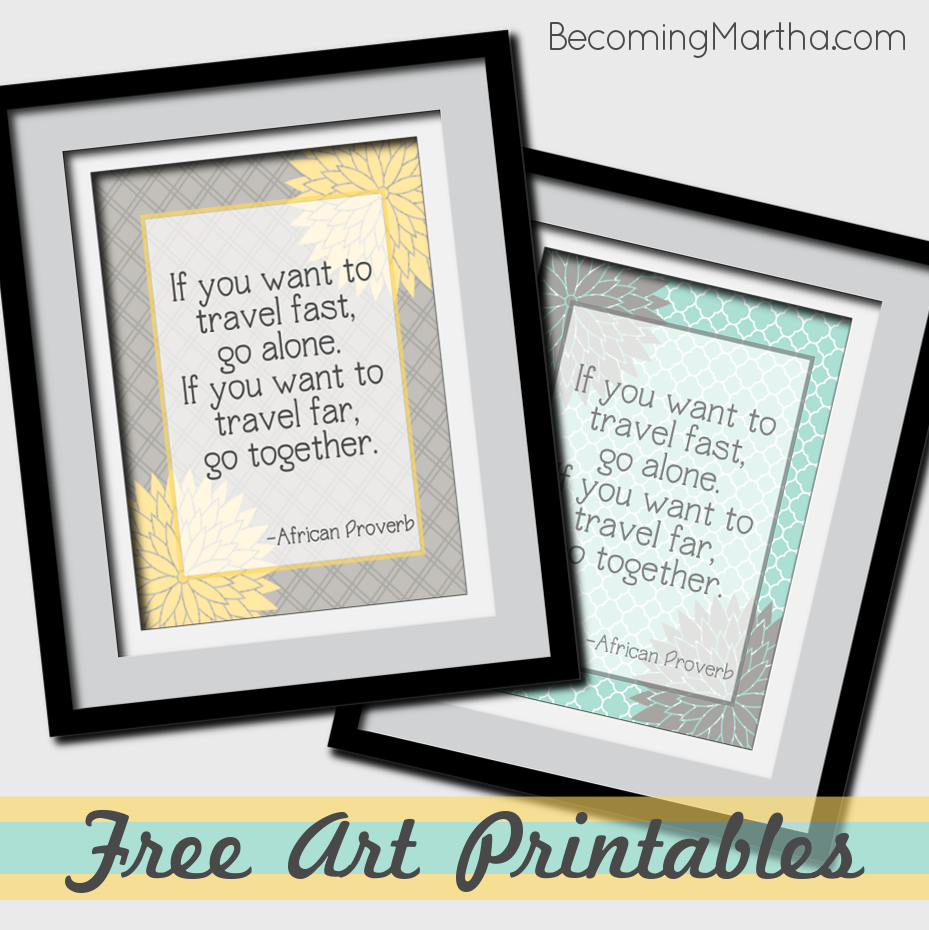 Free Springtime Family or Mother's Day Printable