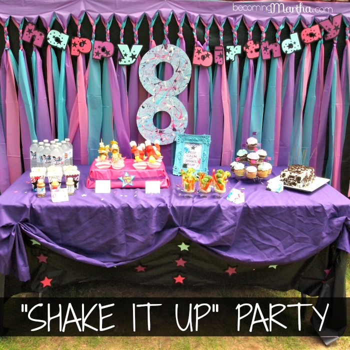 Shake It Up Birthday Party