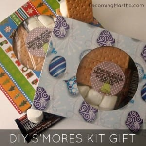 DIY S'mores Kit Gift