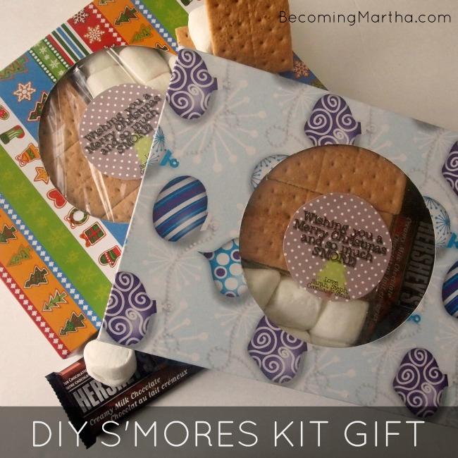 DIY S'mores Kit Gift