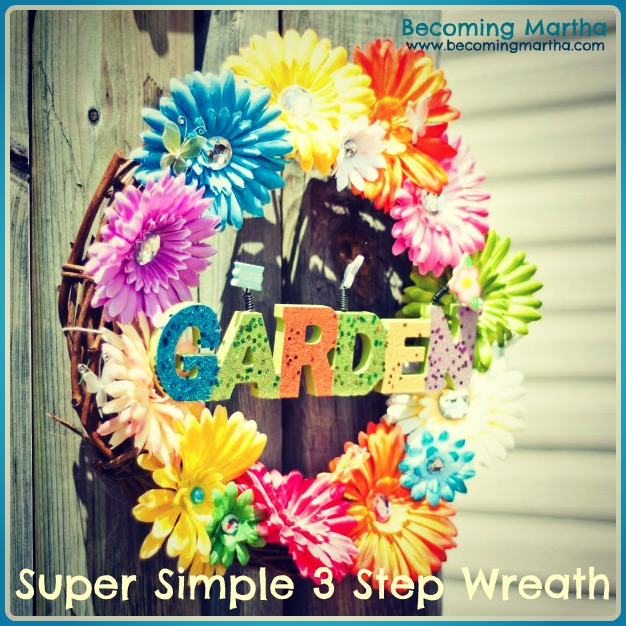 Super Simple 3 Step Wreath