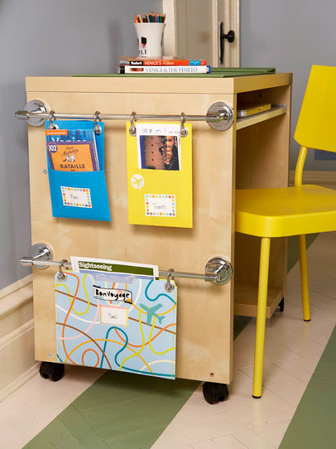 40 back to school organization ideas becoming martha - School desk organization ideas ...