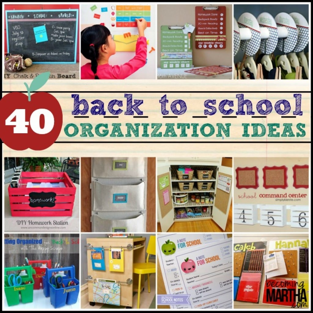 Pin school organisation on pinterest - Back to school organization ...