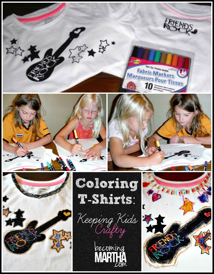 Color Your Own Shirt {Keep Kids Creative with Cricut}