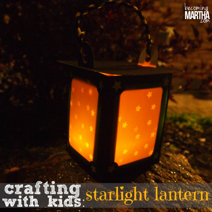 Starlight Lantern and Nature Exploring {Crafting with Kids and Kiwi Crates}