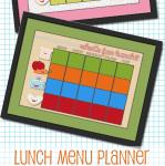 lunch menu planner