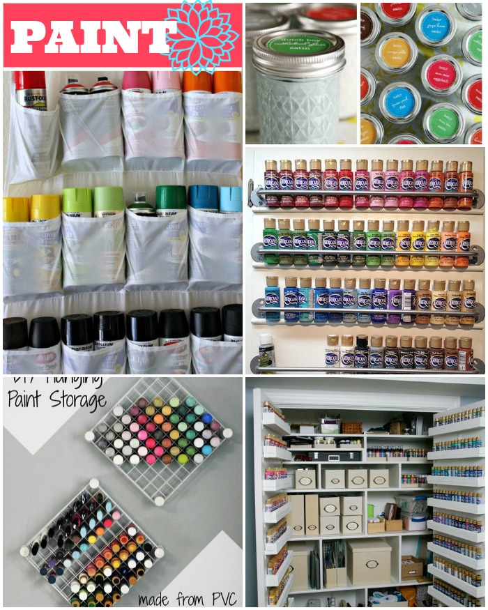35 crafty craft storage solutions. Black Bedroom Furniture Sets. Home Design Ideas