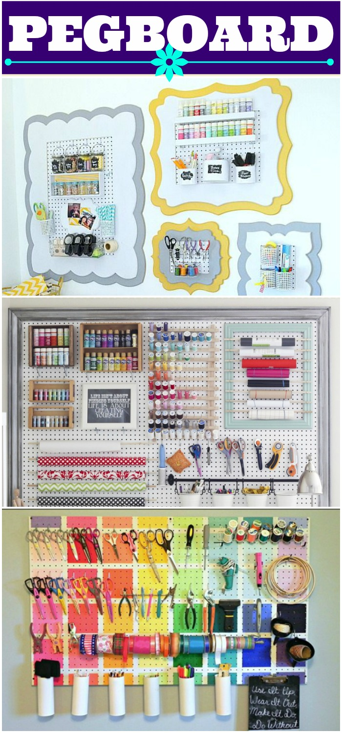 pegboard collage