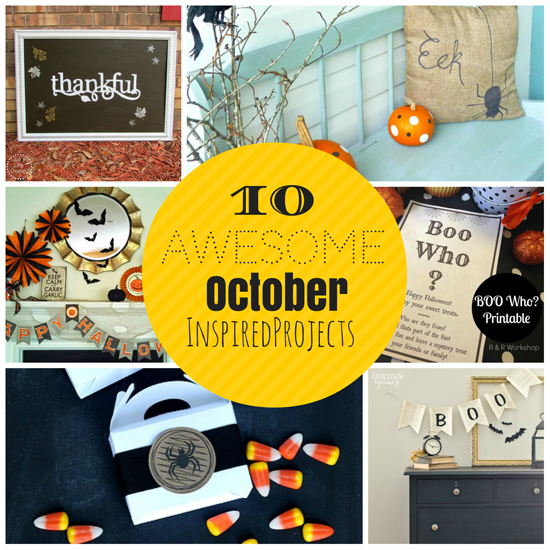 10 Awesome October Projects {Must Pin Projects}