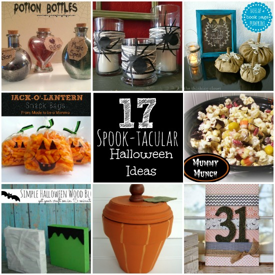 17 Spook-tacular Halloween Ideas {Must Pin Projects}