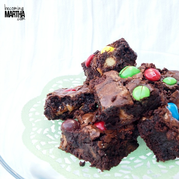 Leftover Halloween Treats from Becoming Martha #halloweentreats #brownies #shop #cbias