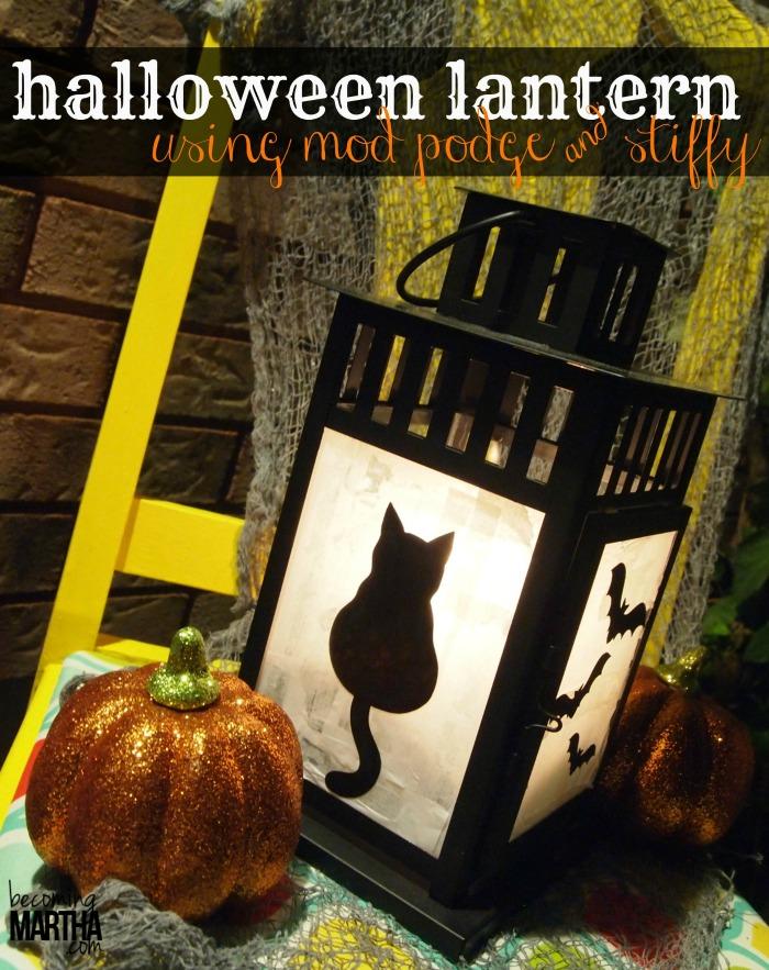 Halloween Lantern - Becoming Martha
