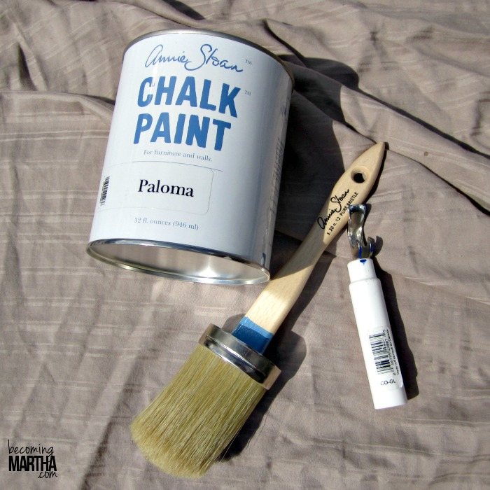 Chalk Paint Refinished Bedroom Set - Becoming Martha