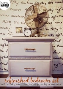 Thrifted Bedroom Set Makeover