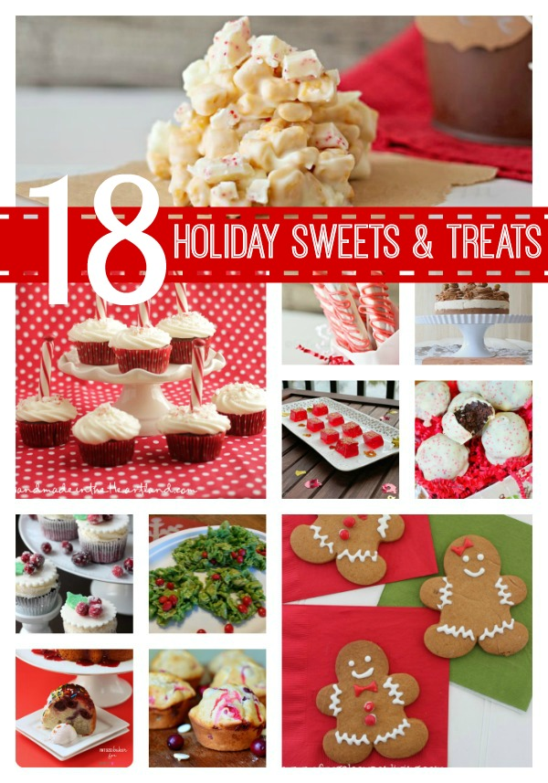 18 Holiday Treats and Sweets {Must Pin Projects}
