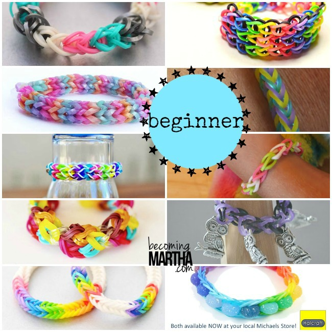 Rainbow Loom Beginner Bracelet Patterns