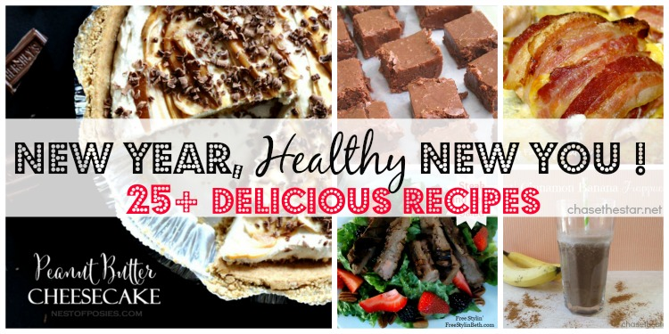 New-Year-New-You-25+-healthy-recipes-via-Chase-the-Star