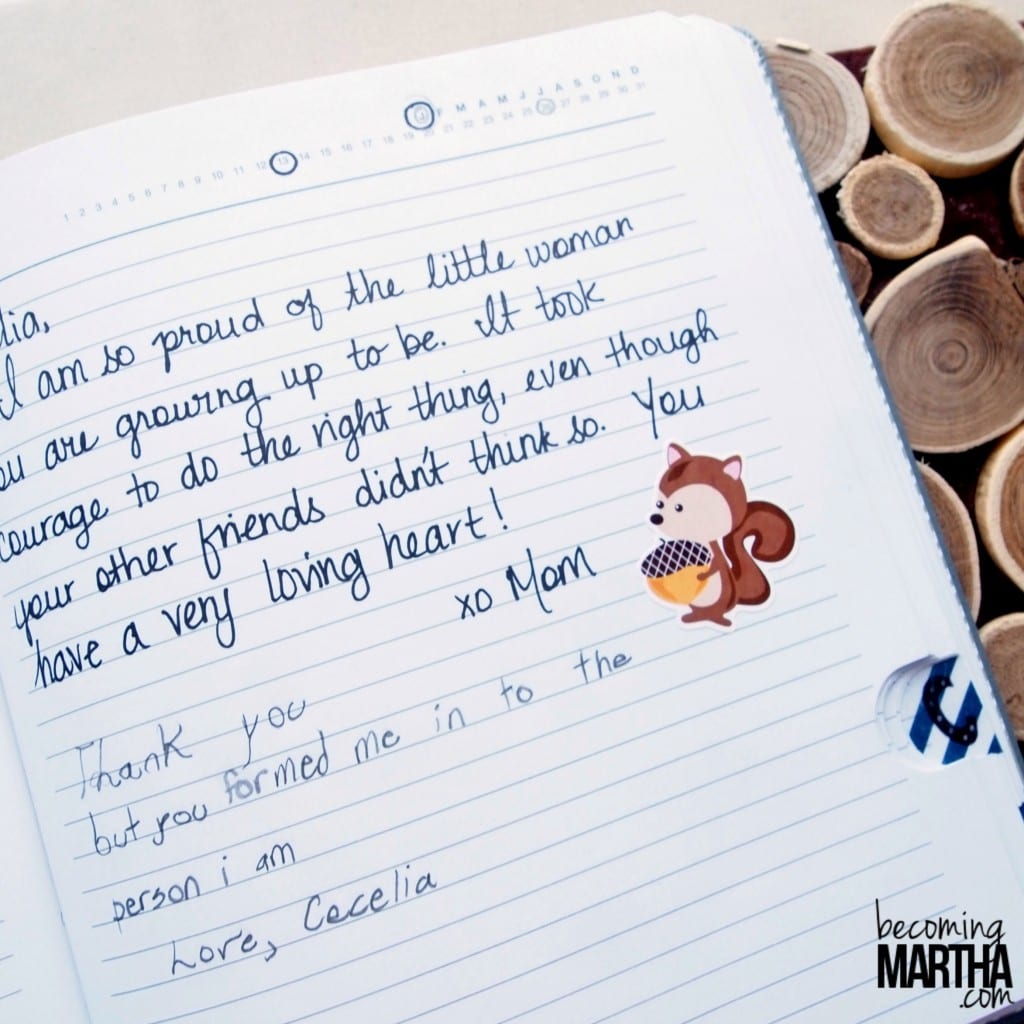 Tabbed Family Journal - A great way to collect and preserve family memories for years to come!