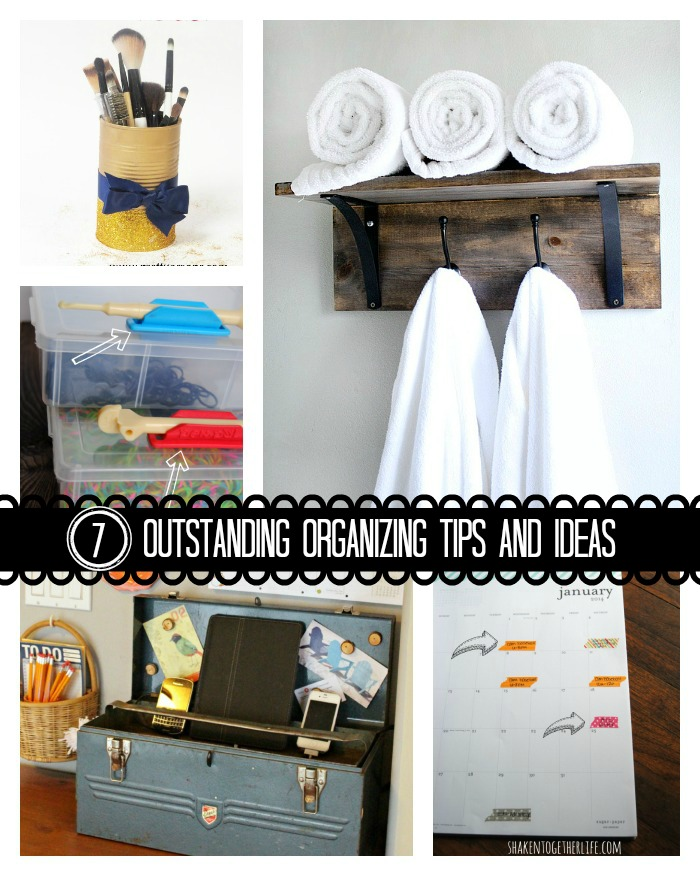 7 Outstanding Organization Ideas {Must Pin Projects}