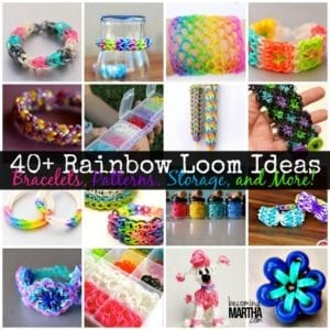 40+ Rainbow Loom Tutorials and Ideas
