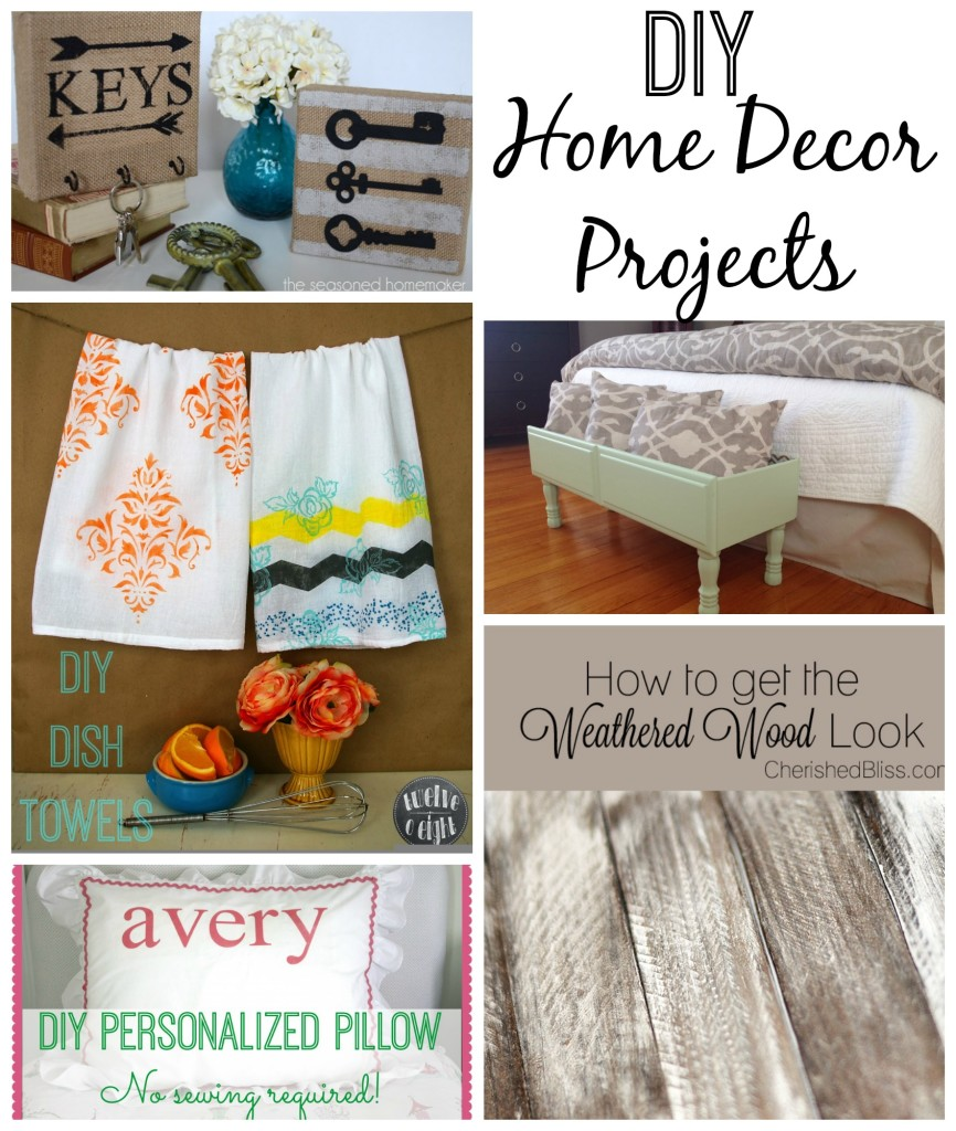 DIY Home Decor Projects {Must Pin Projects}