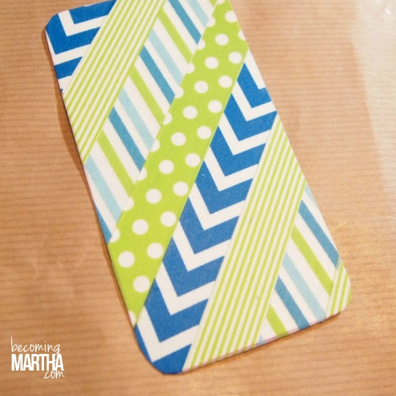 washi tape phone cover 4