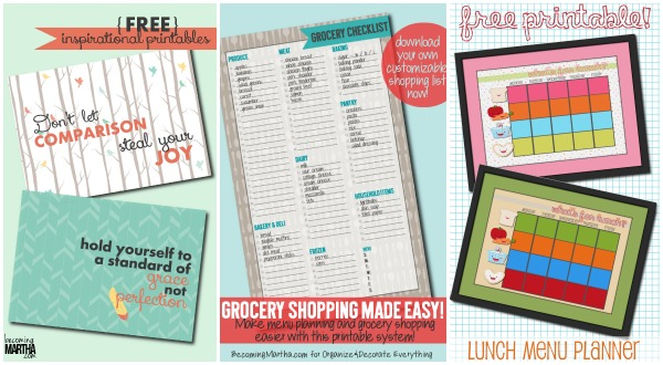 Printables from The Simply Crafted Life