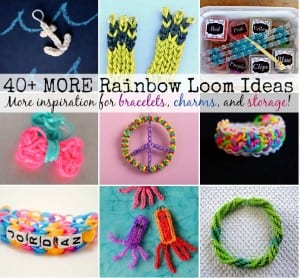 40+ Rainbow Loom Ideas – Vol II