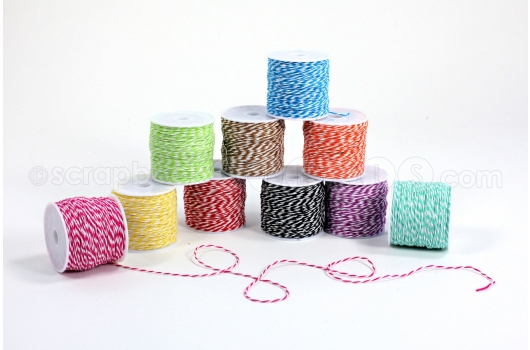 "We R Memory Keepers baker's twine - Use the code MARTHA to save 20% off your entire ""Shop We R"" purchase!"