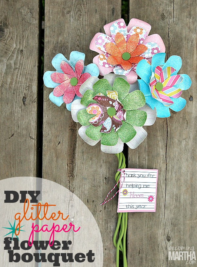 Create easy glitter flower bouquets that never die with this innovation new tool!