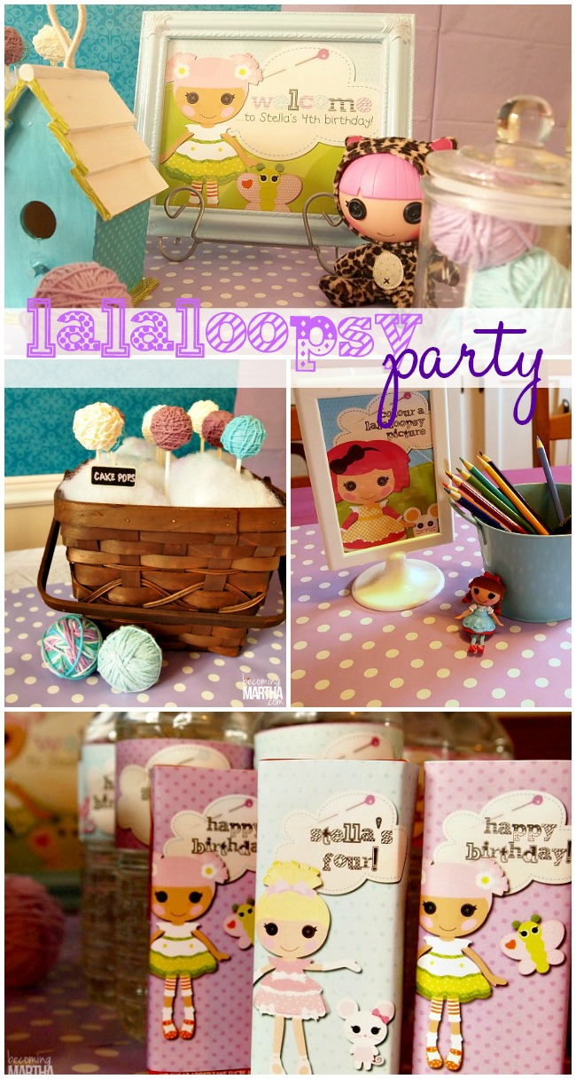 Lalaloopsy Birthday Party on a Budget