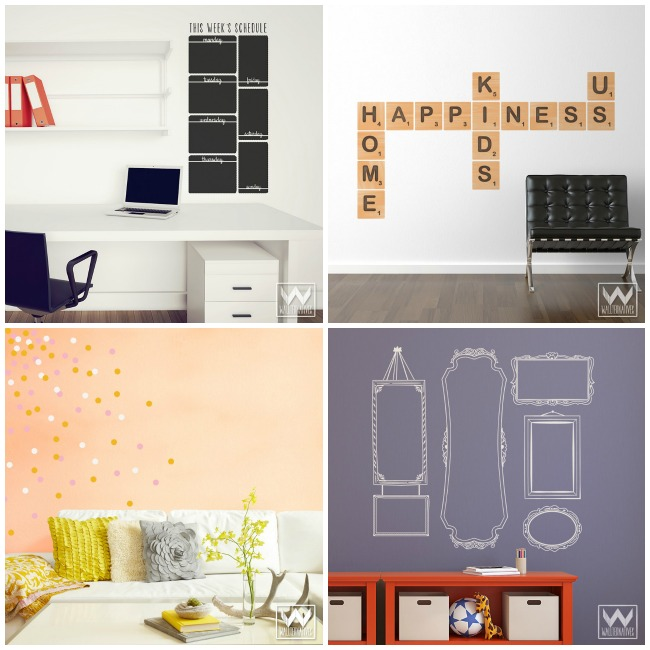 Alphabet Canvas Wall Art - a quick way to add some beautiful artwork to your children's room!