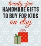 25 Awesome Handmade Gifts to buy your kids this Christmas on Etsy!