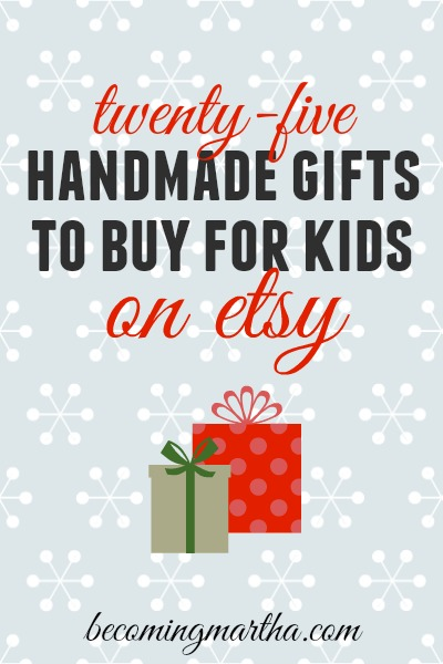 25 Awesome Handmade Gifts for Kids on Etsy
