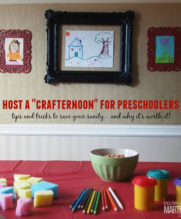 Tips for Hosting A Fun Arts and Crafts Afternoon