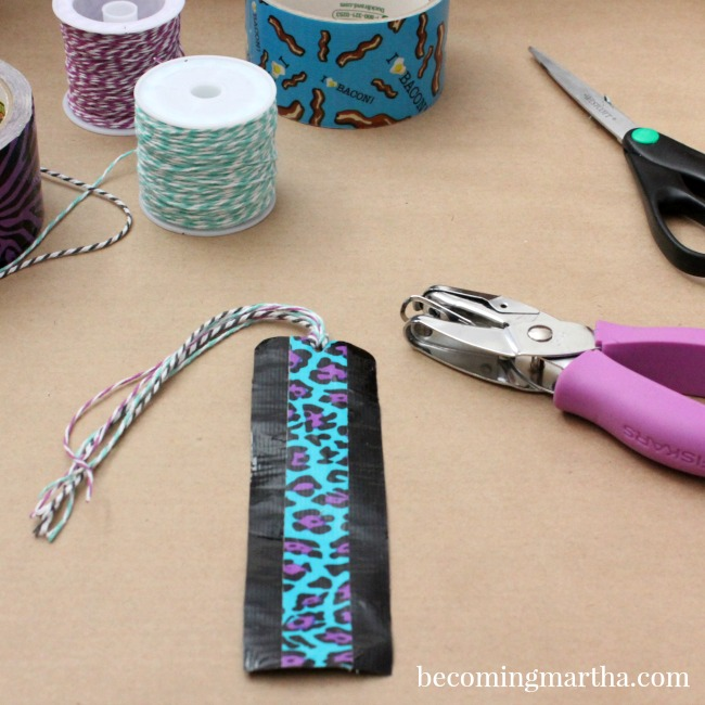 duck tape bookmarks 3